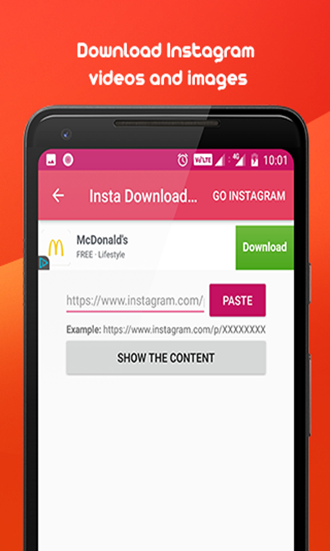 Instagram Status Video Downloader | Free Android App APK