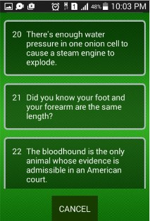 Interesting Fun Facts screenshot 2