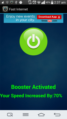 Internet Booster 2g to 4g for Android - Download
