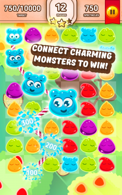 Jelly Monsters - Sweet Mania screenshot 1