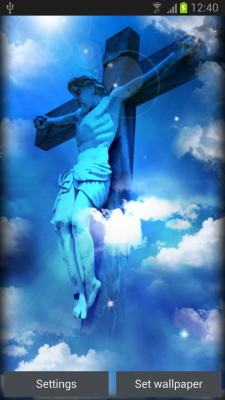 Jesus Live Wallpaper Free screenshot 2