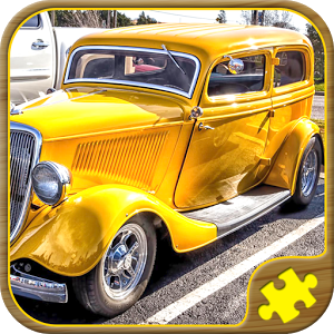 Jigsaw Puzzles Cars Games for Kids Free