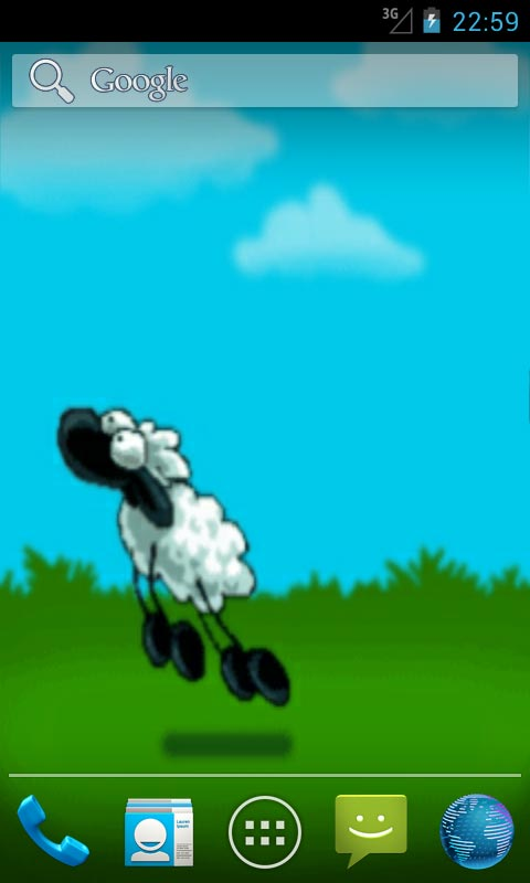 Jumping Sheep Live Wallpapers Free App Download Android Freeware