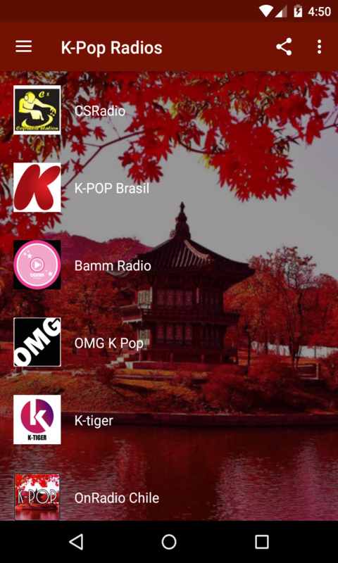 K-Pop Radios screenshot 1