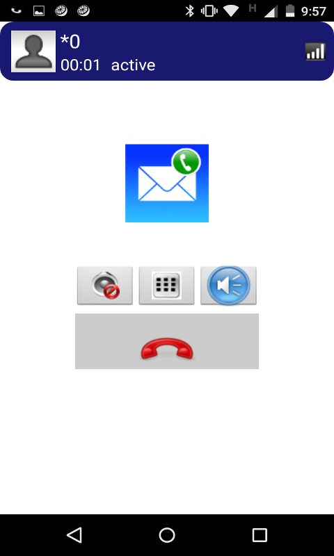 K9UniMail email and free calls screenshot 2