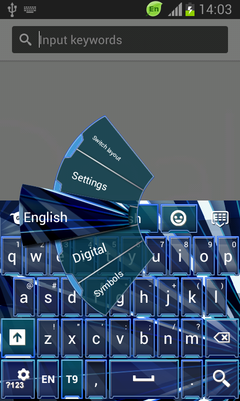 how to change keyboard on htc desire