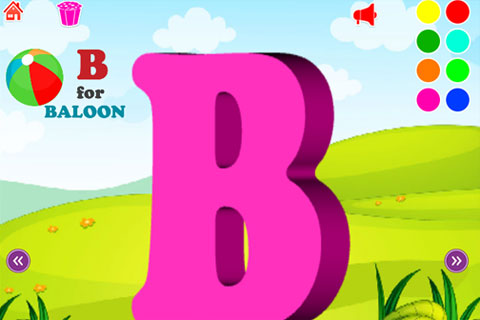 Kids 3D ABC 123 screenshot 2