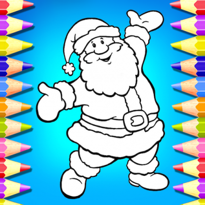 Kids Coloring Book For Christmas