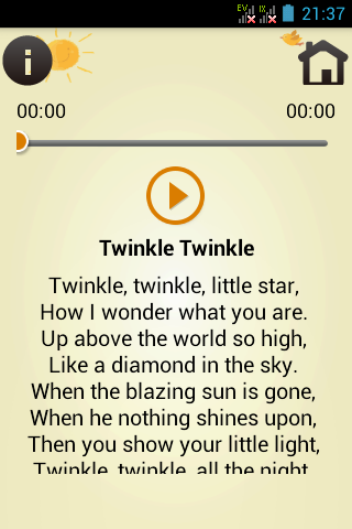 Kids Song with Lyrics screenshot 1