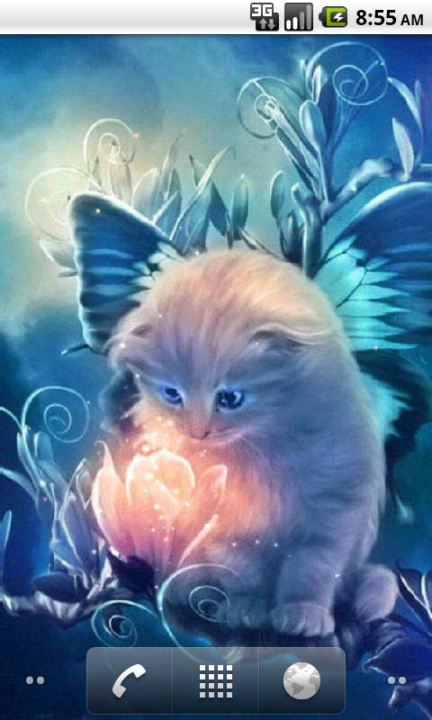 Kitty And Magic Live Wallpapers Free App Download Android Freeware