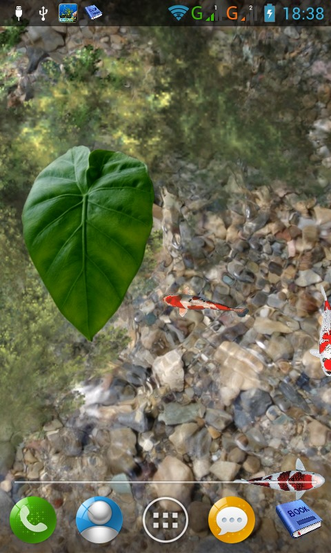 Koi pond free android app android freeware for Koi pond app