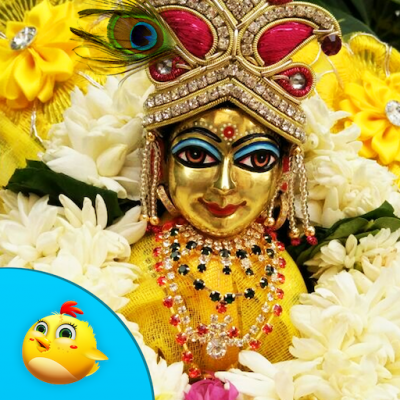Download bal gopal makhan chor mobile screensavers 2227952.