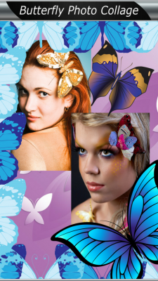 Latest Butterfly Photo Collage screenshot 1