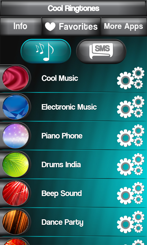 cool text tones for iphone cool ringtones free android apps android freeware 7007