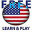Image of Learn and play. US English American free