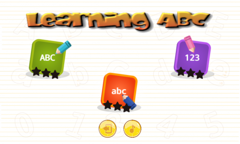 Learning ABC screenshot 1