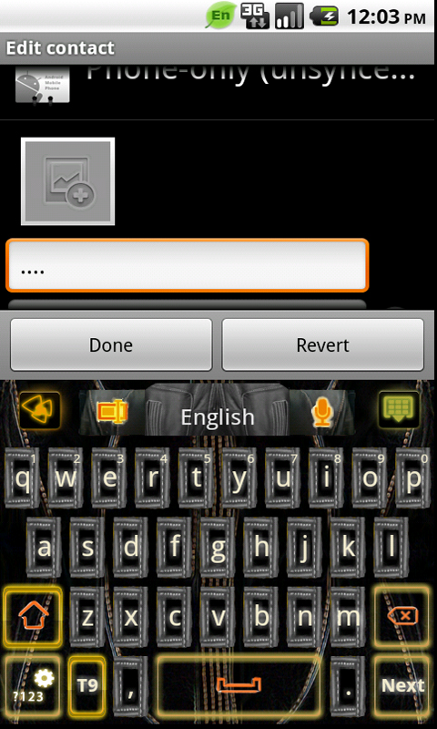Download Free Go Keyboard Electric Theme Apps For Android Phone | Apps ...