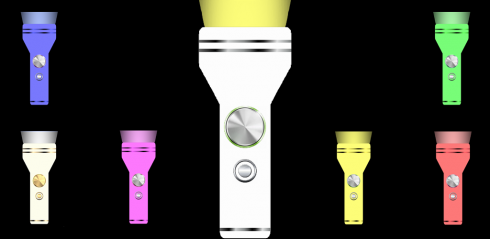 LED Shake Flashlight screenshot 1
