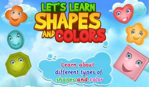Lets Learn Shapes And Colors screenshot 1