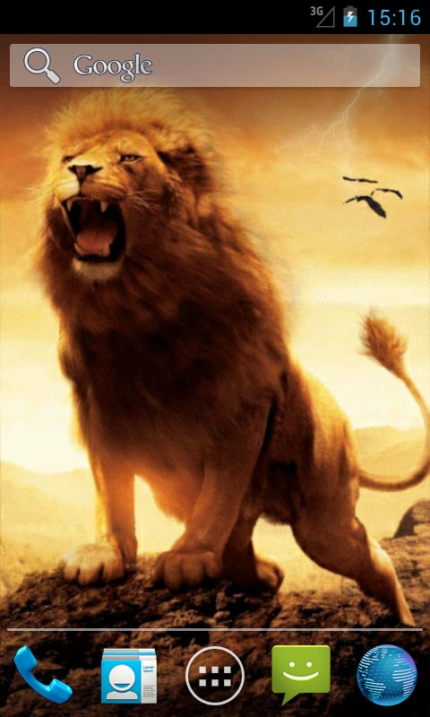 Lion And Lightning Live Wallpapers App Download