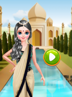 Little Indian Girl Salon screenshot 1