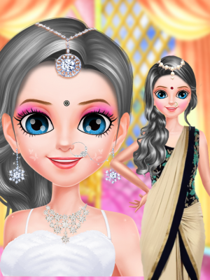 Little Indian Girl Salon screenshot 2