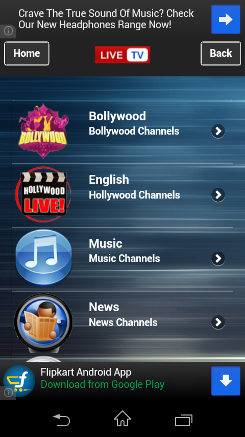 Live Tv Channel for Android - Download