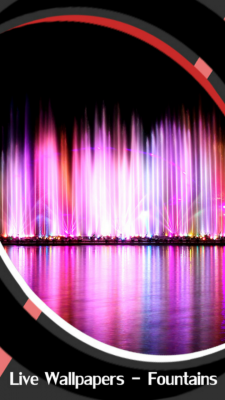 Live Wallpapers Fountains screenshot 1