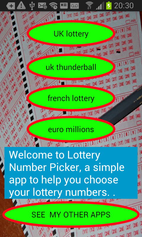 Lottery number picker generator cigarettautomater vinster