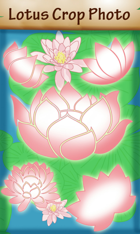 Lotus Crop Photo screenshot 1