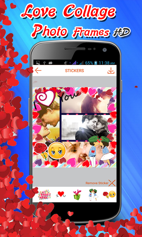 download love photo frames for android