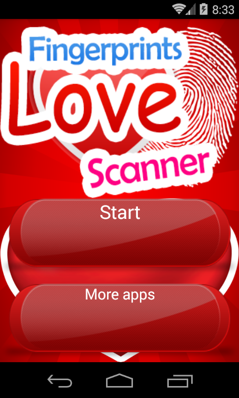 Love Fingerprint Scanner Prank screenshot 1