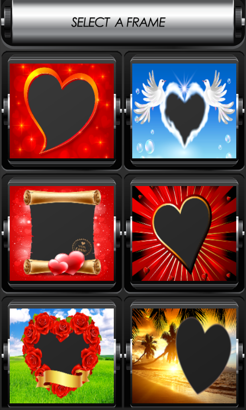 love photo frames free android app apk by sparrow studio games