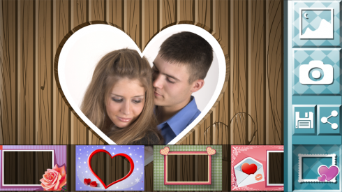 love photo frame app download