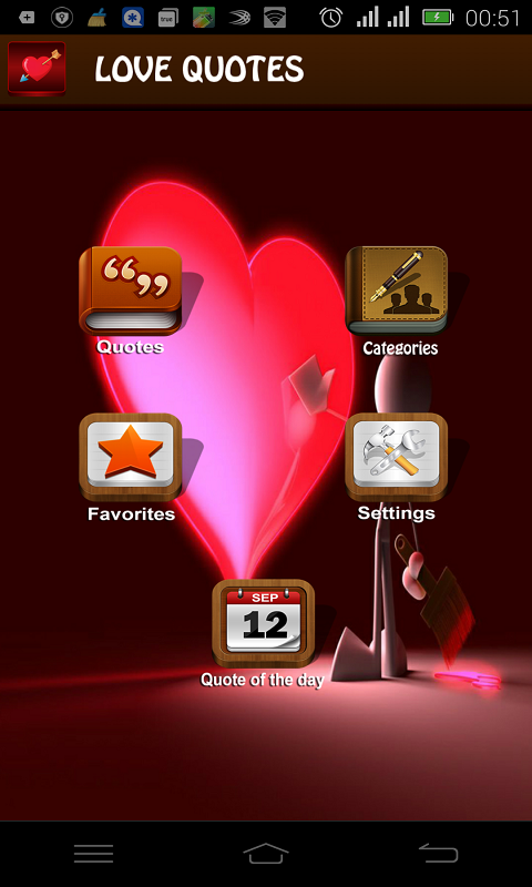 love quotes free app download android freeware