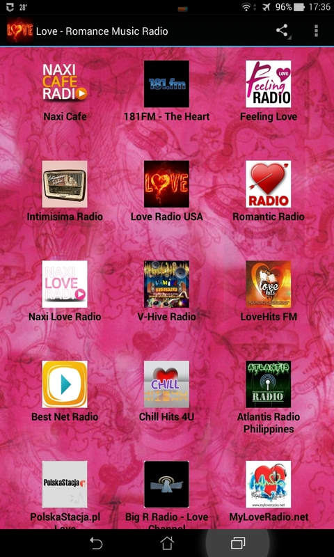Love - Romance Music Radio screenshot 1