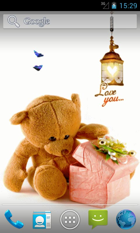 Love Teddy Bear Live Wallpapers Android Download
