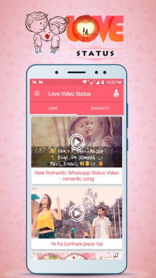 Love Video Status screenshot 2