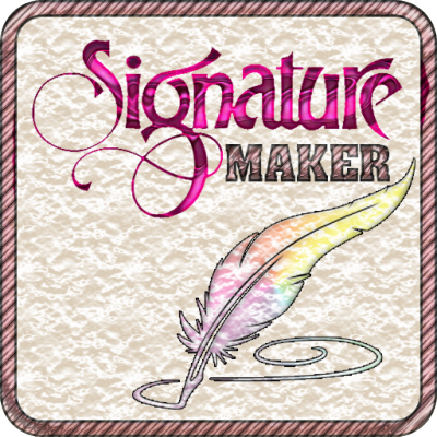 Lovely Signature Maker