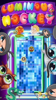 Luminous Hockey screenshot 1