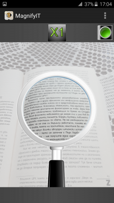 MagnifyIT - magnifying glass screenshot 2