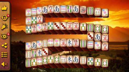 Mahjong Kingdom 2 screenshot 1