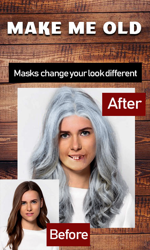 Make me old photo editor old men Face Change screenshot 1
