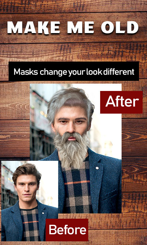 Make me old photo editor old men Face Change screenshot 2
