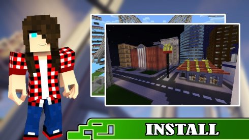Maps City for Minecraft PE screenshot 2