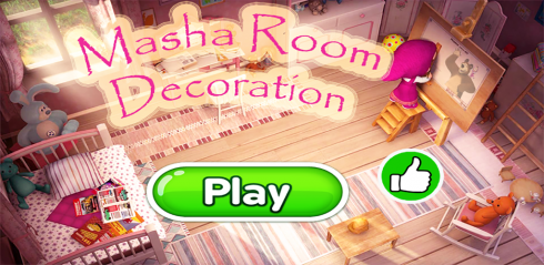 masha and bear room decoration game free app download android
