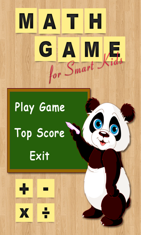 Math Game for Smart Kids screenshot 1