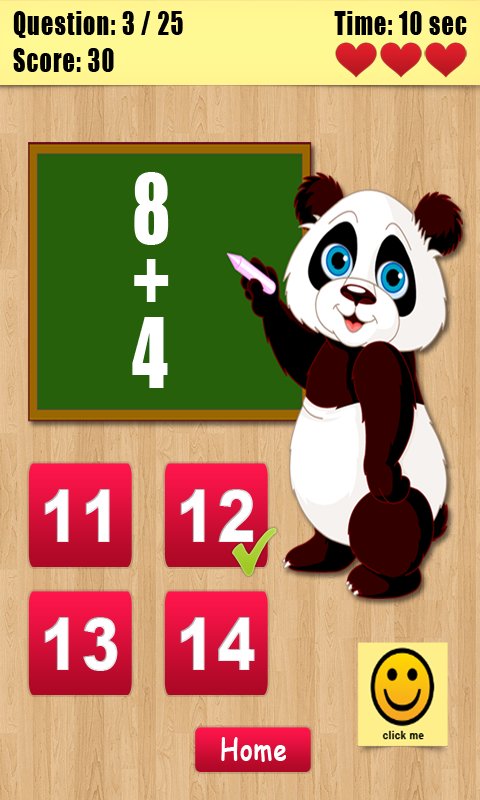 Math Game for Smart Kids screenshot 2