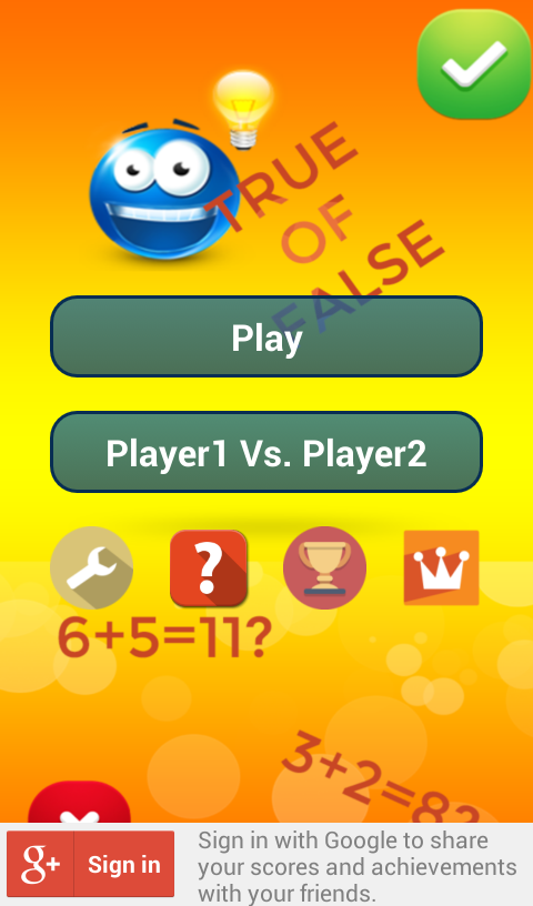math genius quiz screenshot 2