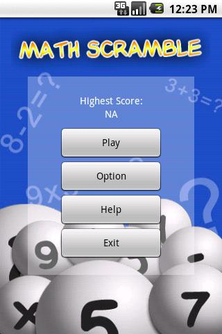 Math Scramble screenshot 1